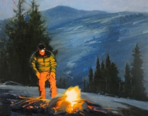 Warmth - Oil painting by Carolyn Hesse-Low