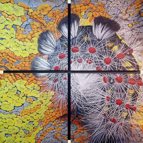 John Kifer - Birdfood, Acrylic