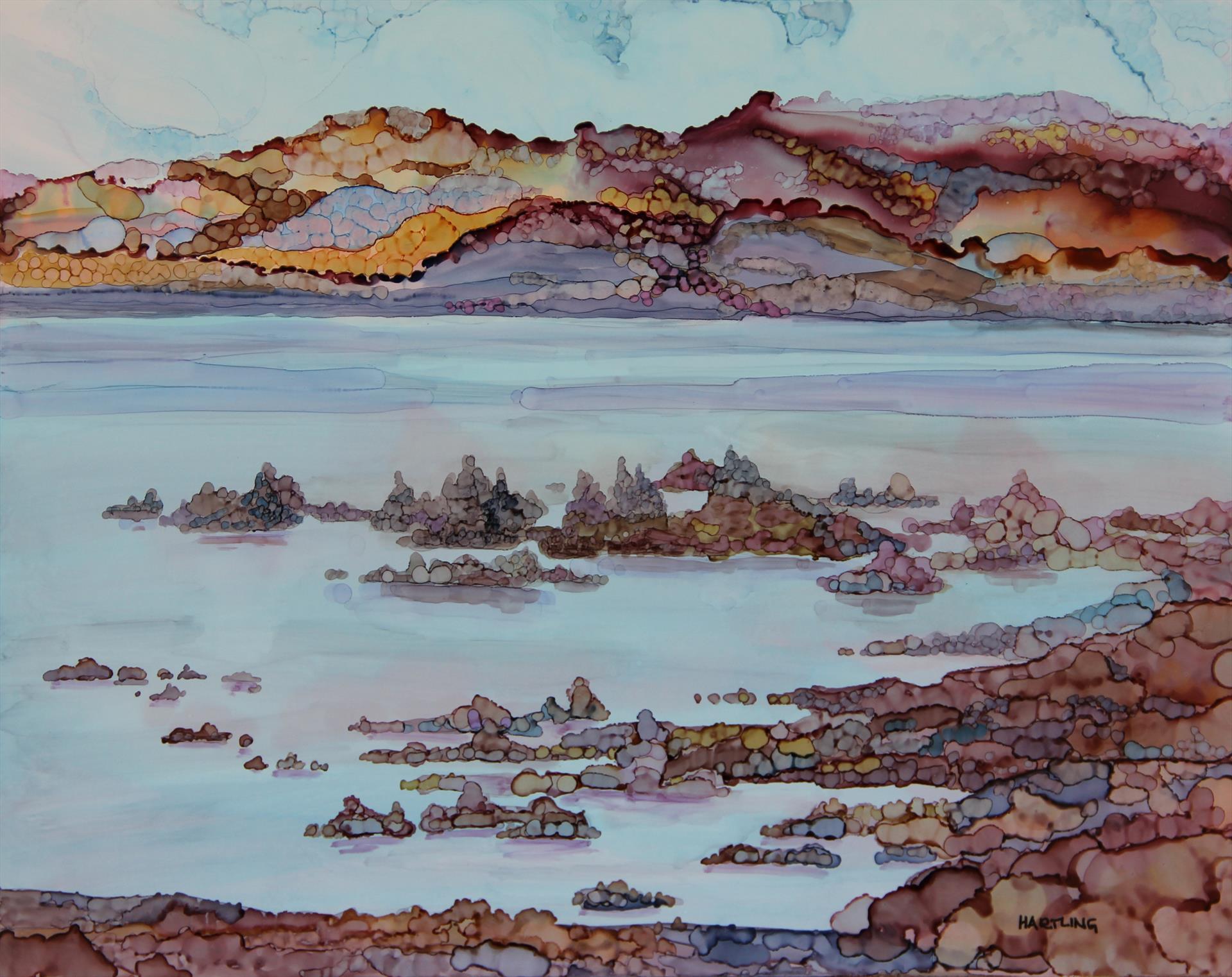 Mono Lake Tufa, Carolyn Hartling