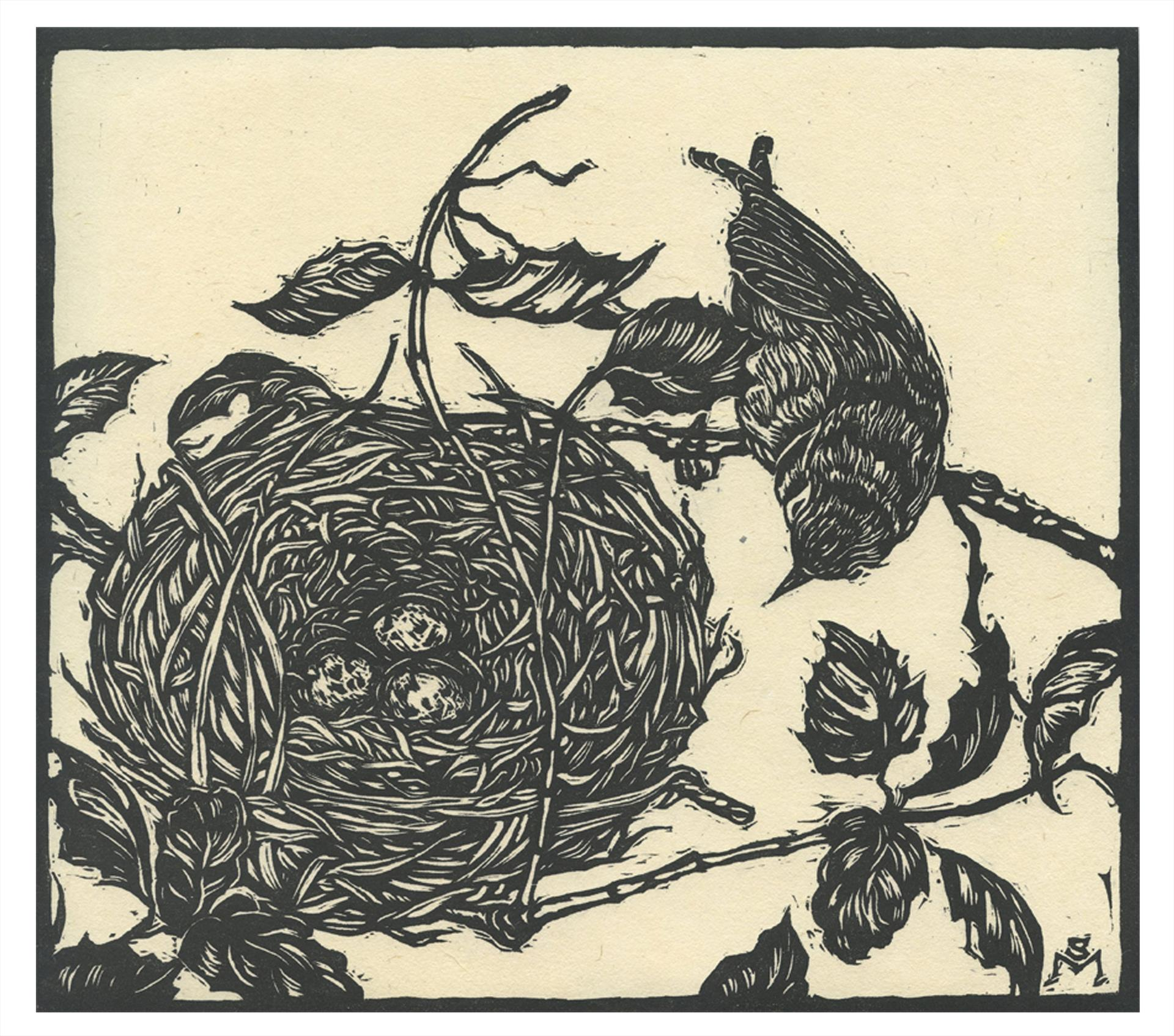 Spring Warbler, Stephanie Martin