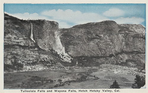 Hetch Hetchy Valley before the dam.