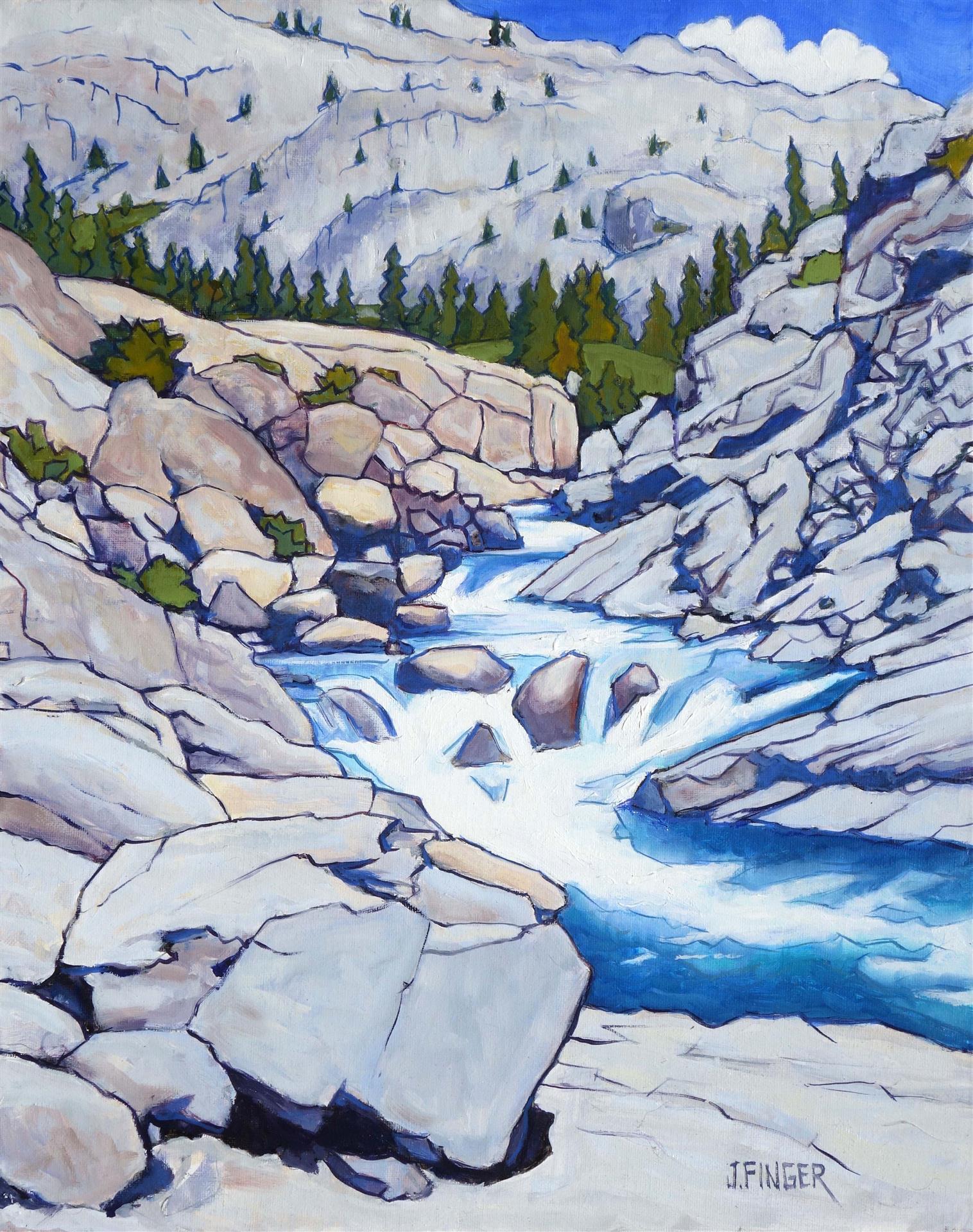 Quiet Sierra Stream, John Finger