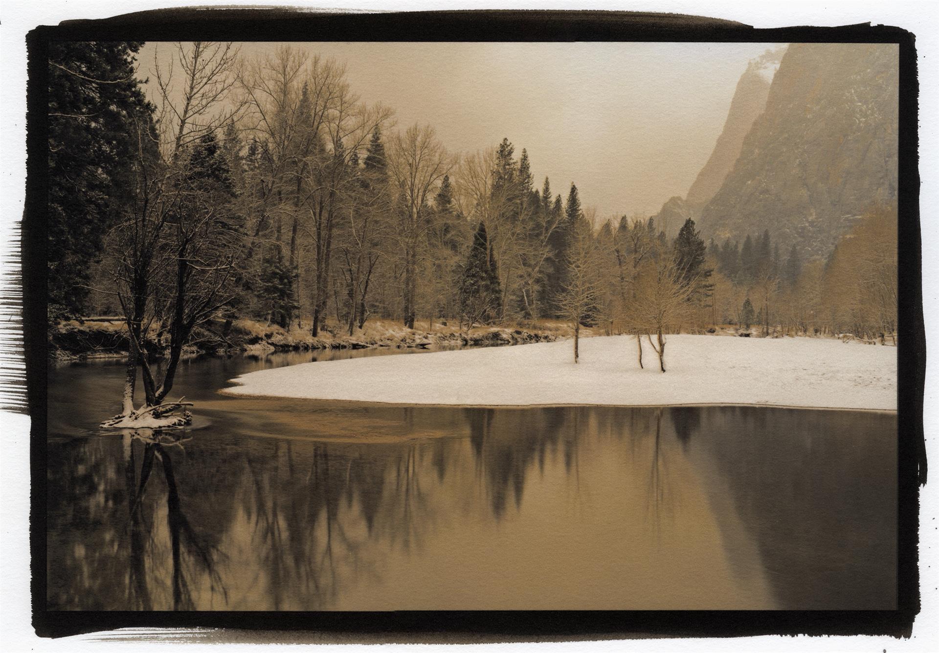 Merced River in Winter, Kerik Kouklis