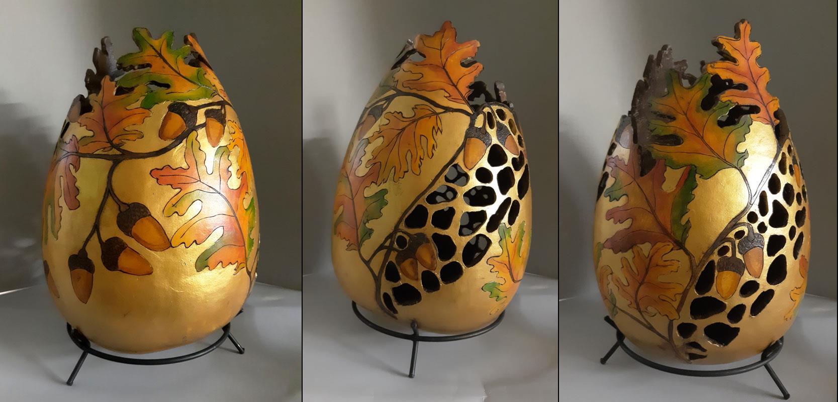 Oak Leaves and Acorns, Gretchen Lee