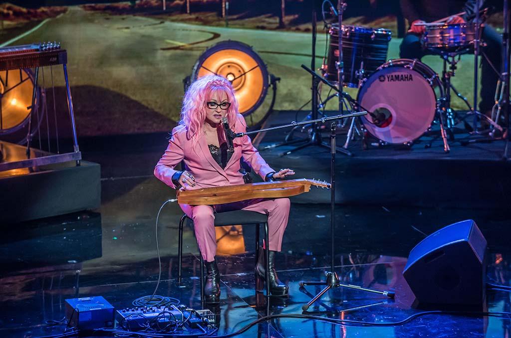Cyndi Lauper. Credit ITV/REX/Shutterstock