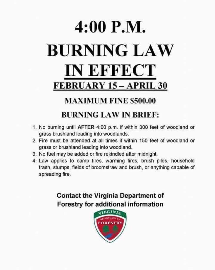 4pm Burning Law