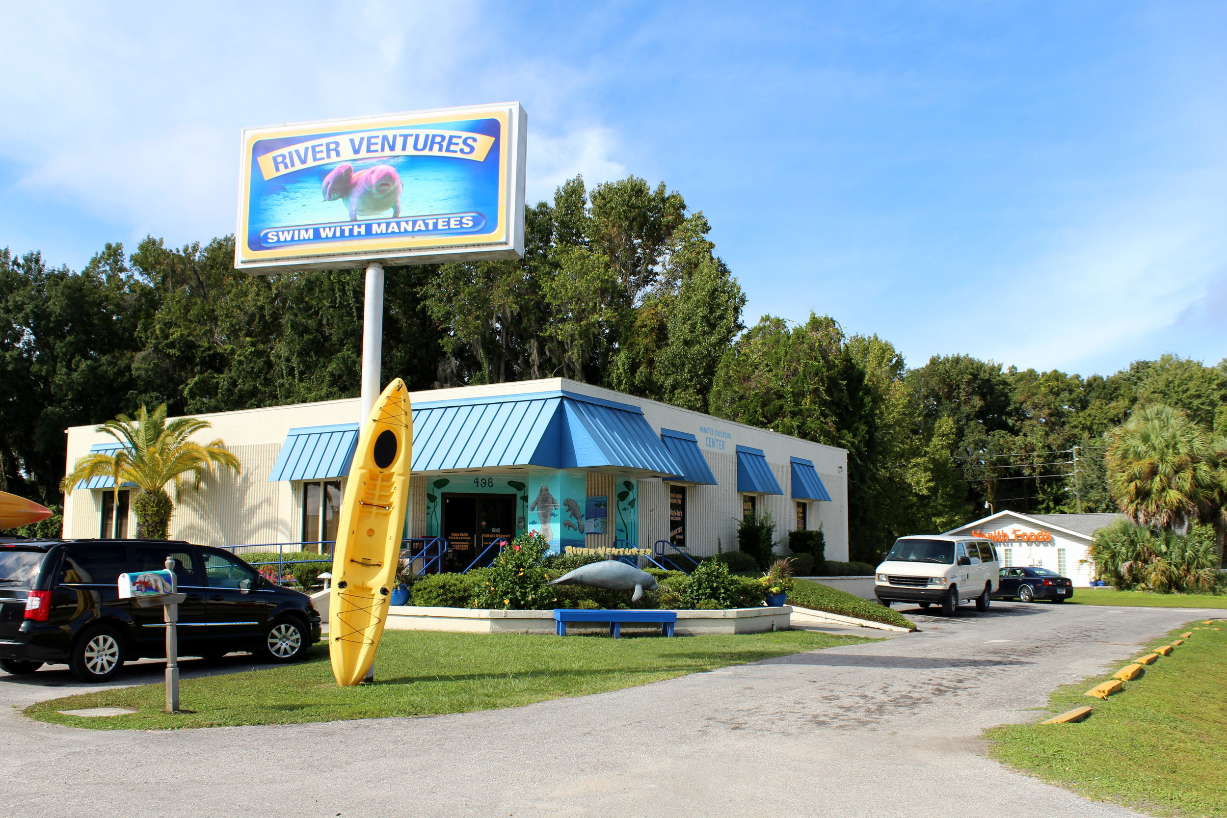 river ventures, manatee tour and education center