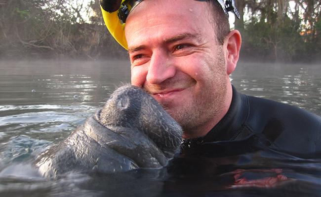 River Ventures, Swim with Manatee