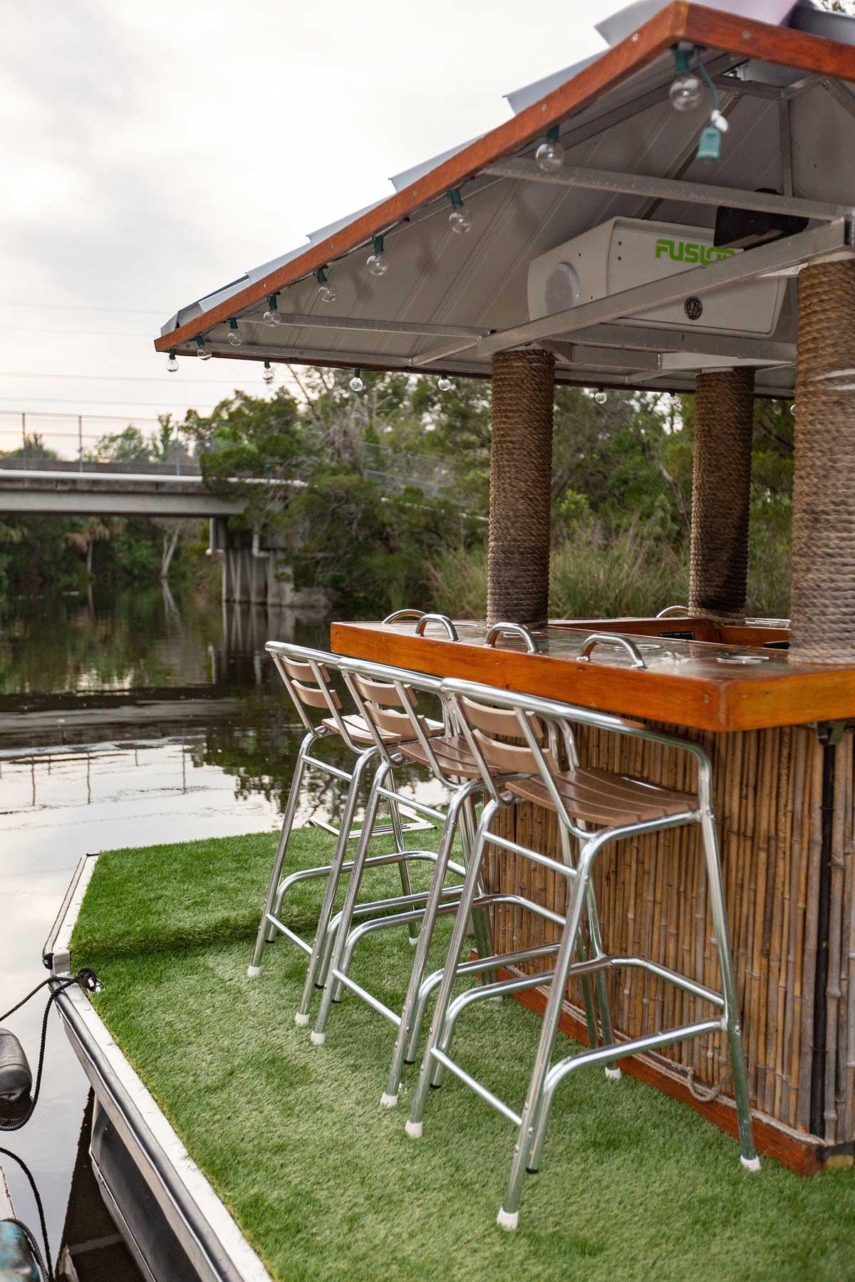 river ventures tiki bar