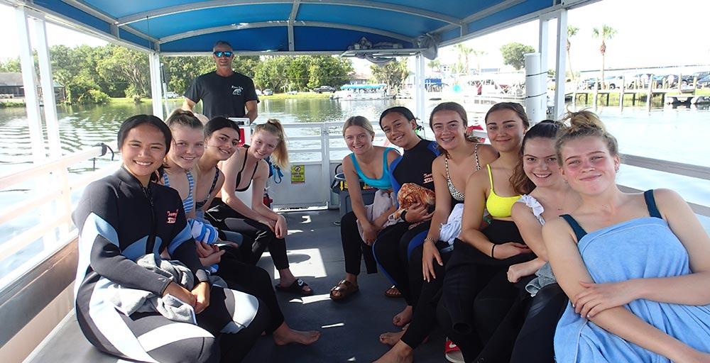 river ventures manatee group tour