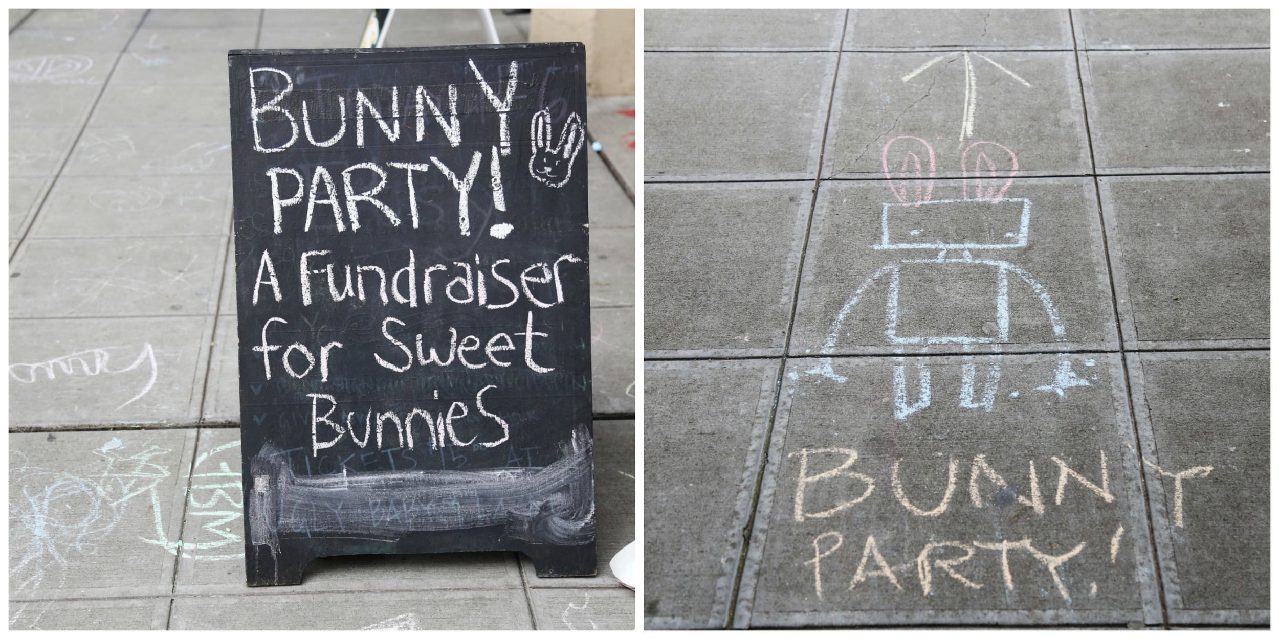 Who doesn't want to go to a bunny party?