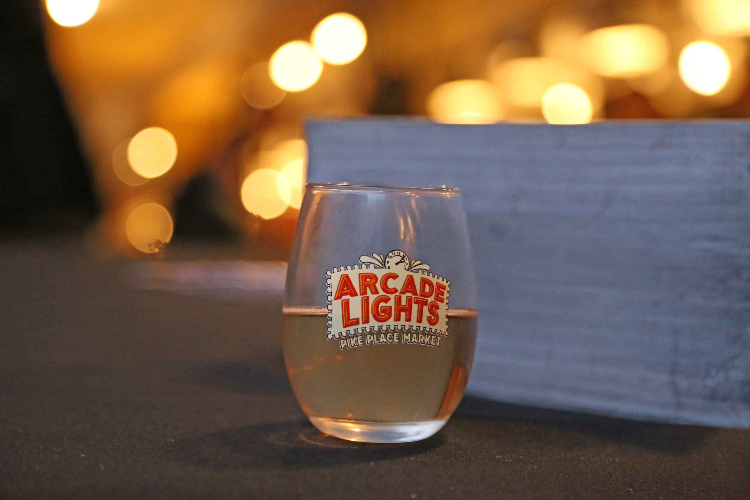 Every attendee gets a souvenir glass to take home.