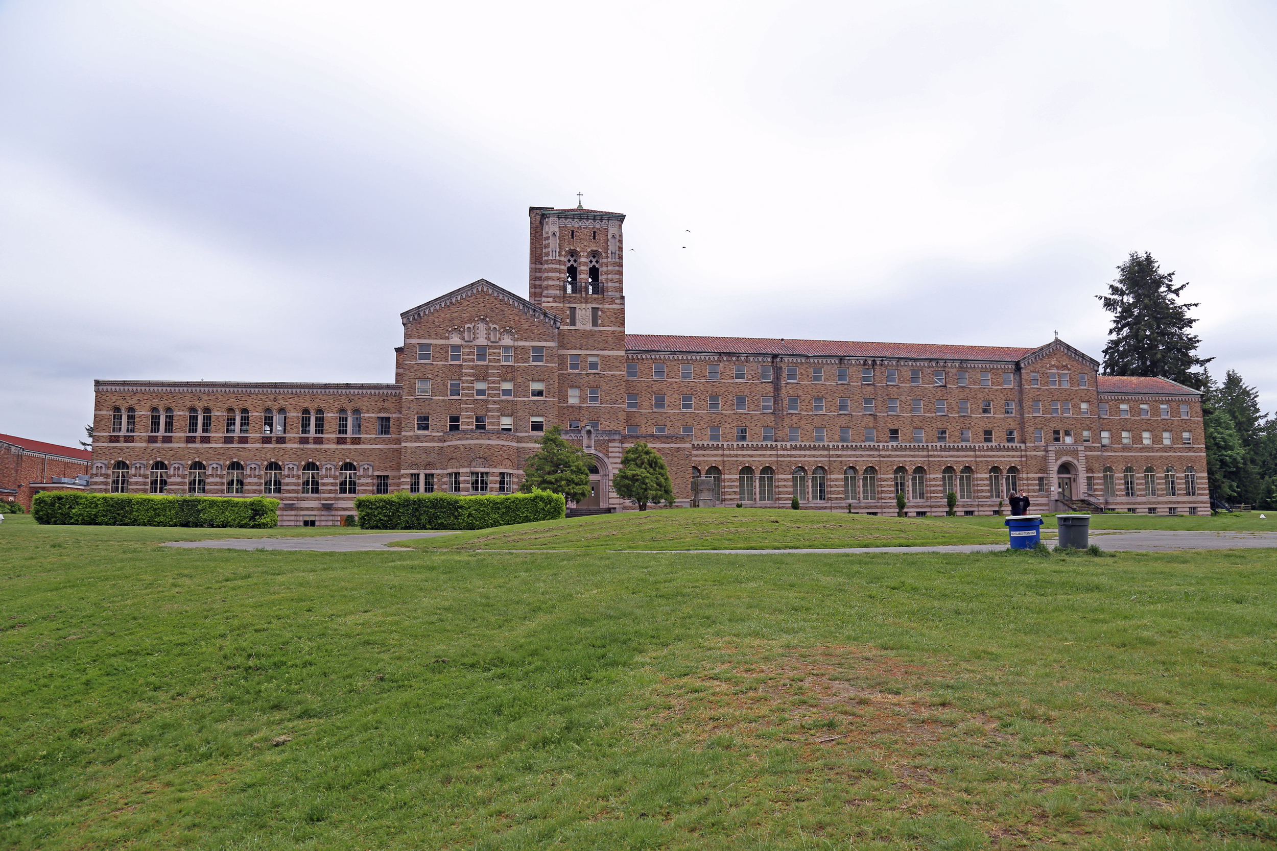 The Catholic Seminary, which sits on the park grounds.