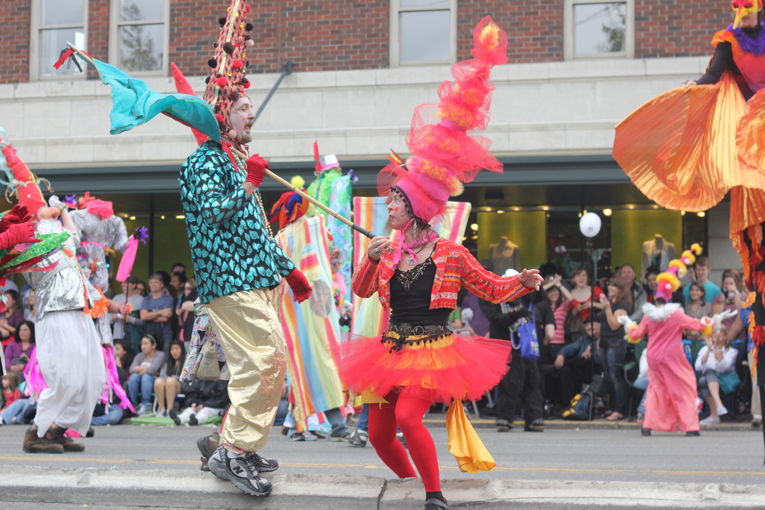 Your Dad will love all the wacky Fremont Solstice events