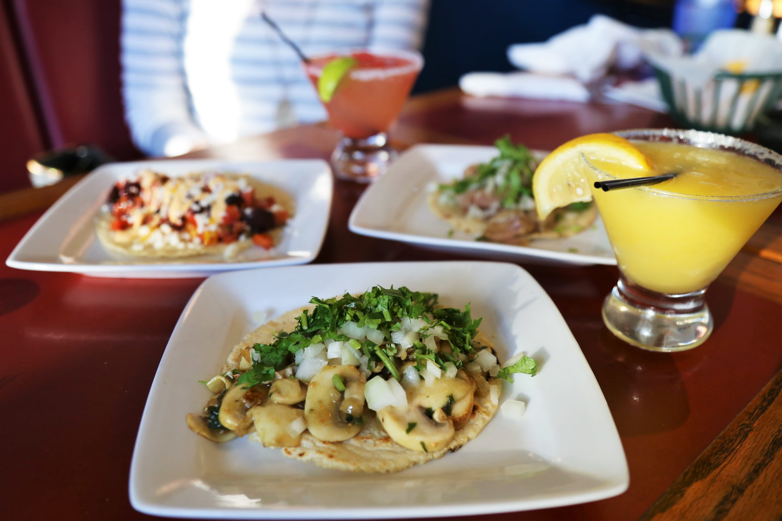 Luna Azul tacos and margaritas!