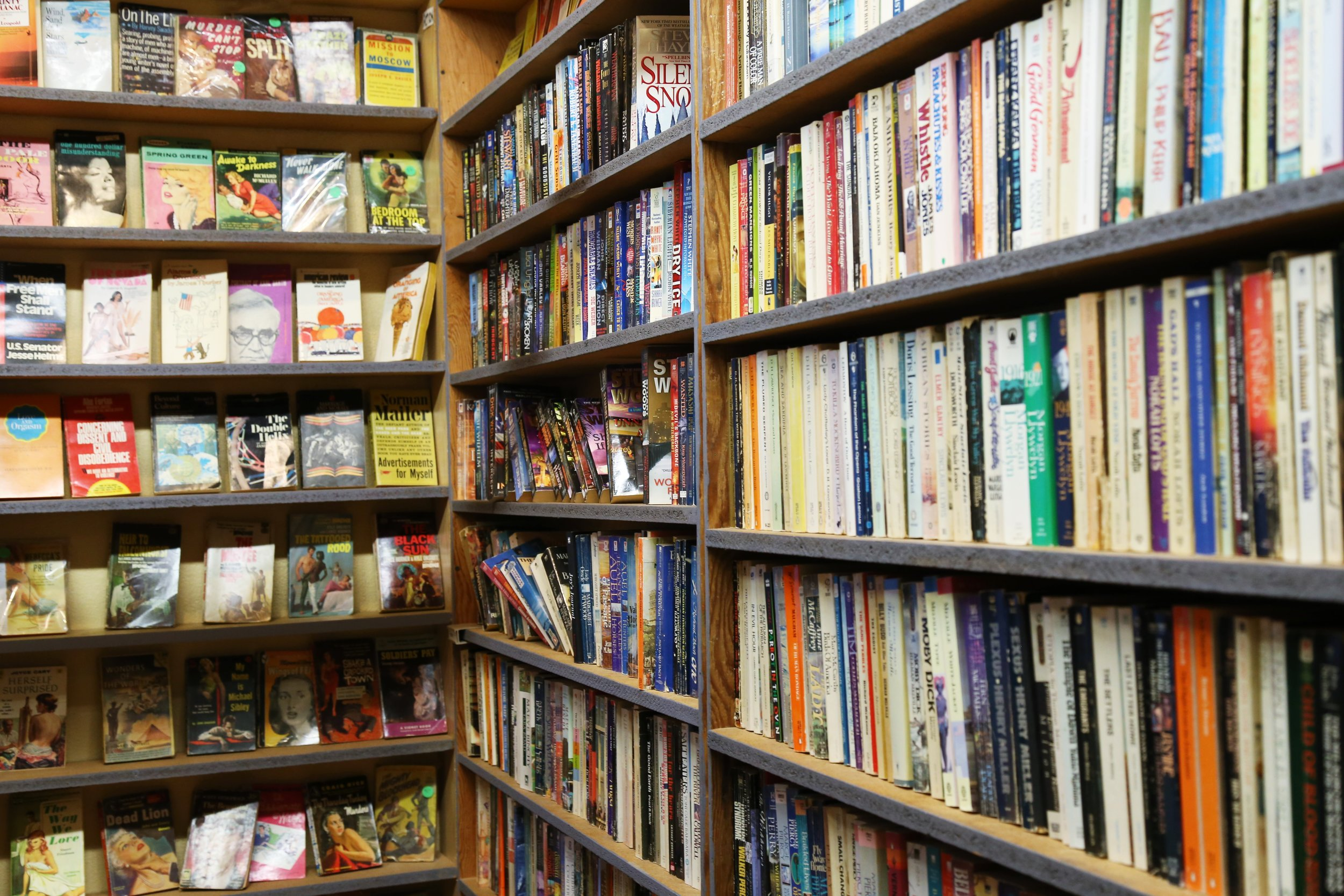 Great selection at Couth Buzzard Books