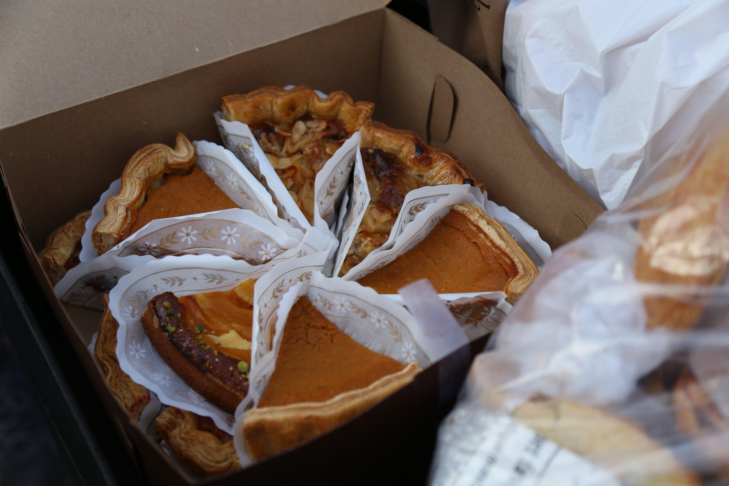 Le Panier donates delicious pastries