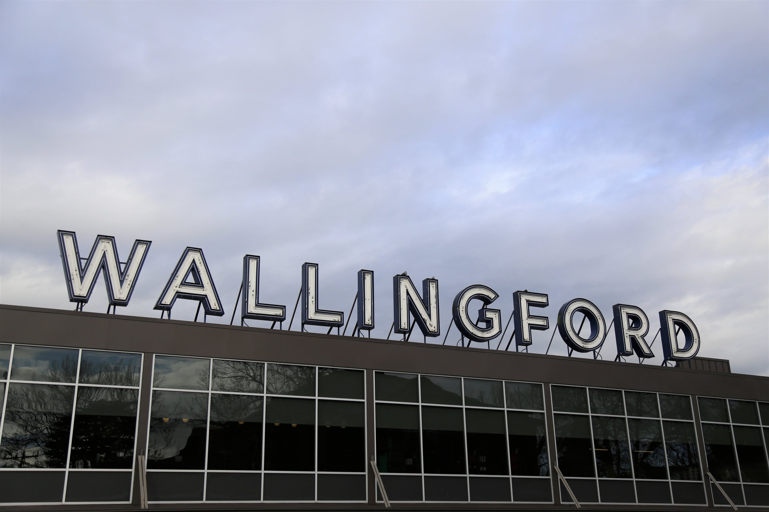 QFC's giant Wallingford sign