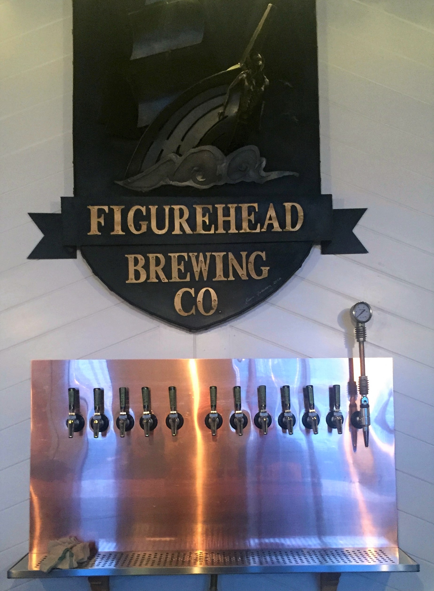 12 taps of Figurehead
