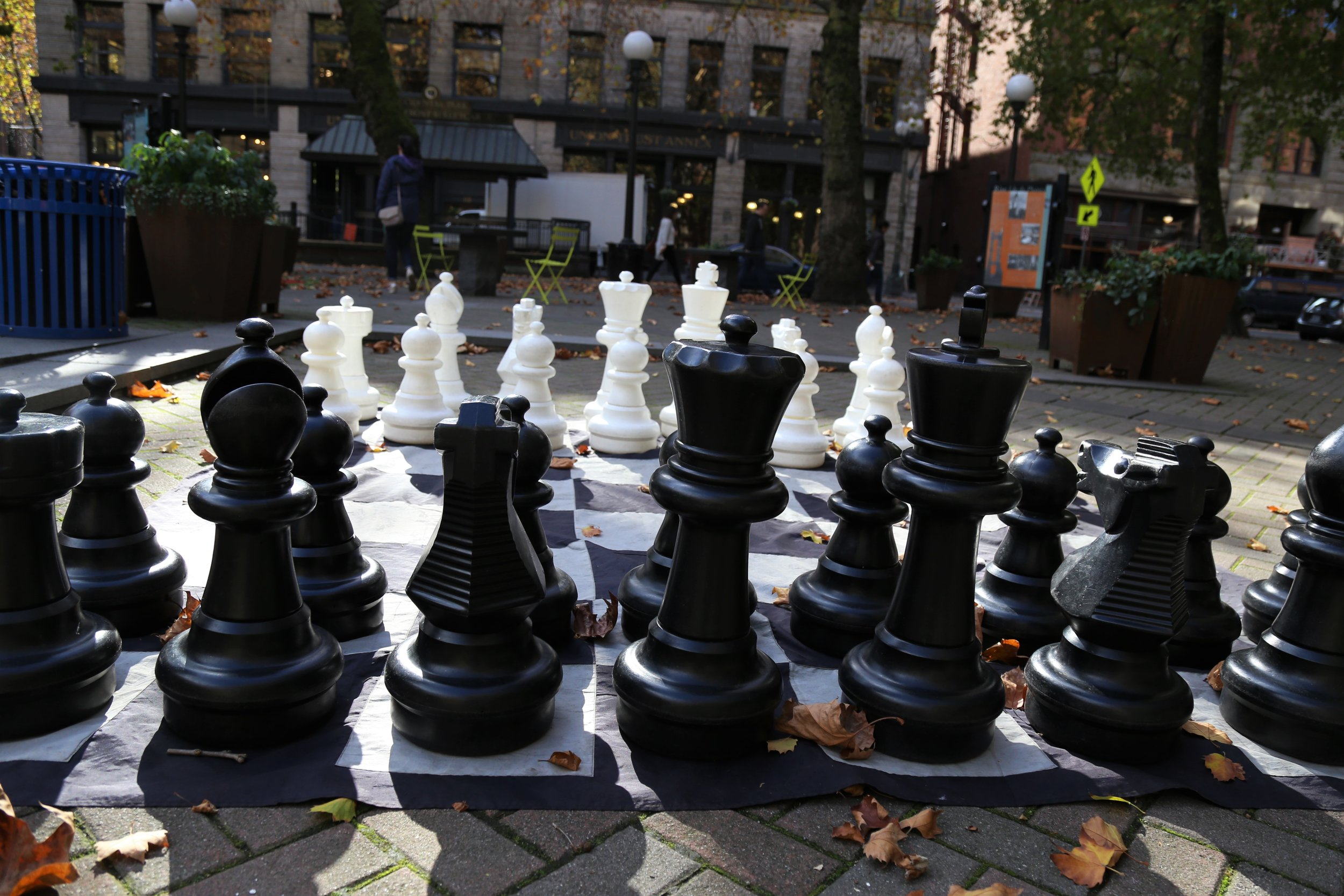 Chess at Occidental Park