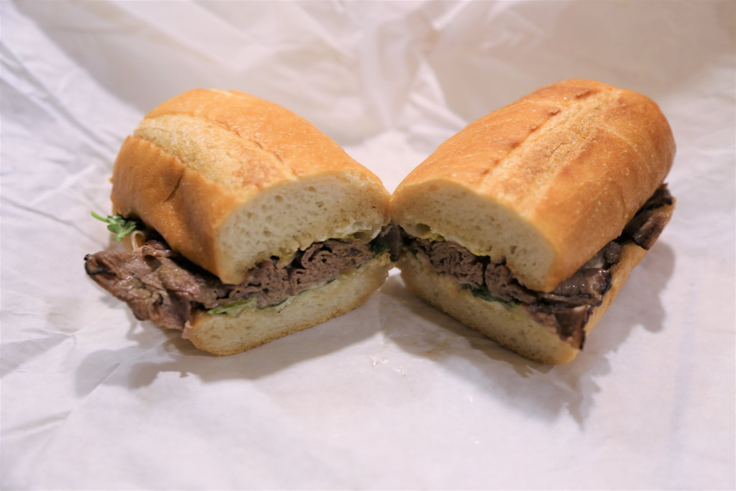 Carribean Pork sandwich