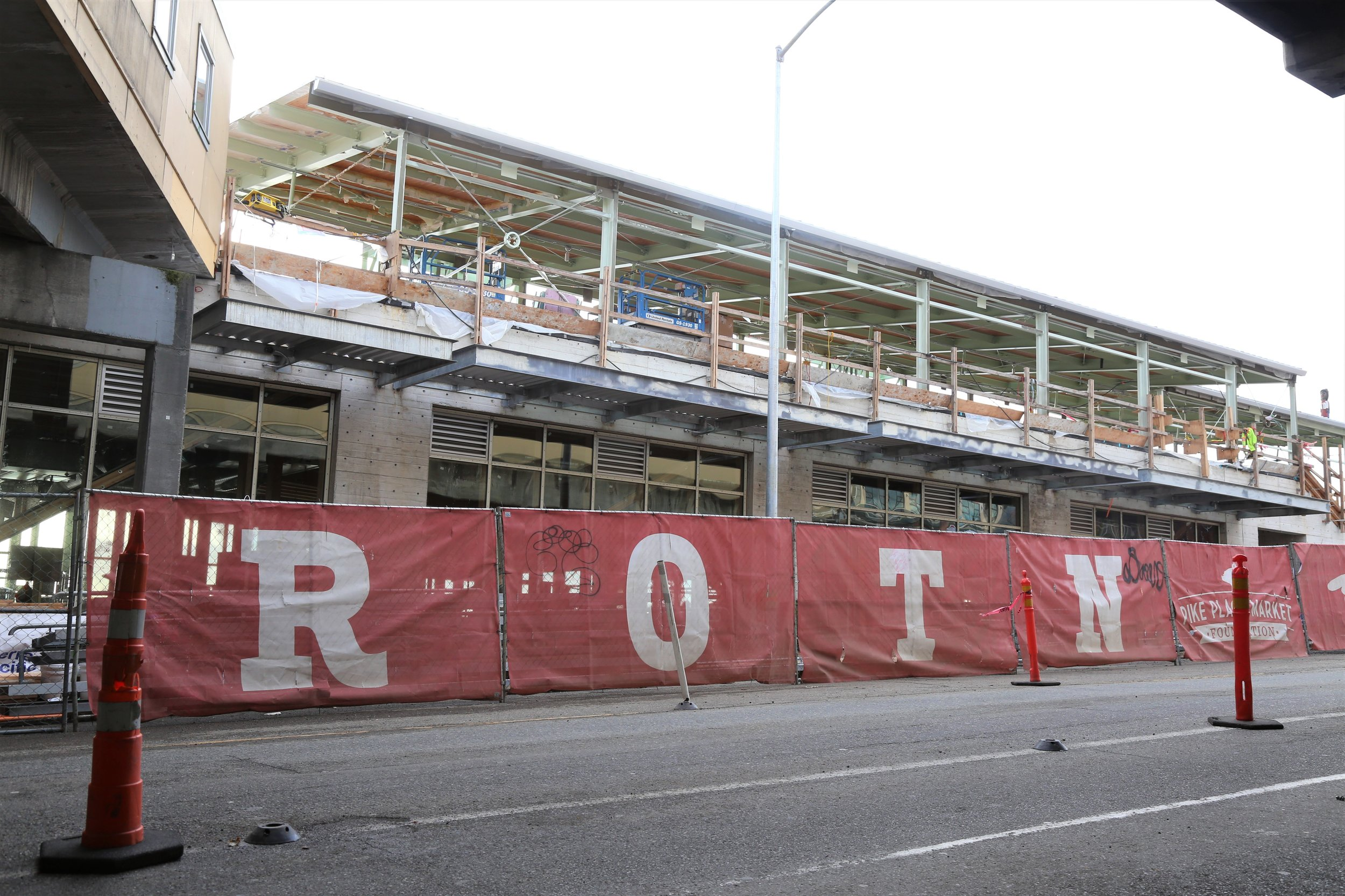 Pike Place Marketfront Expansion Project