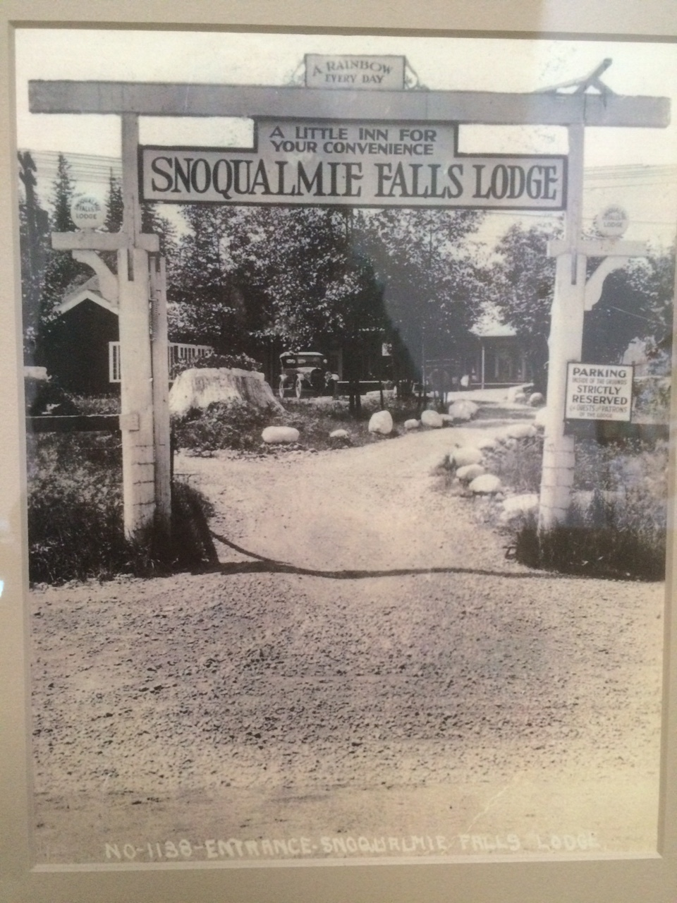 Salish Lodge back in the day!