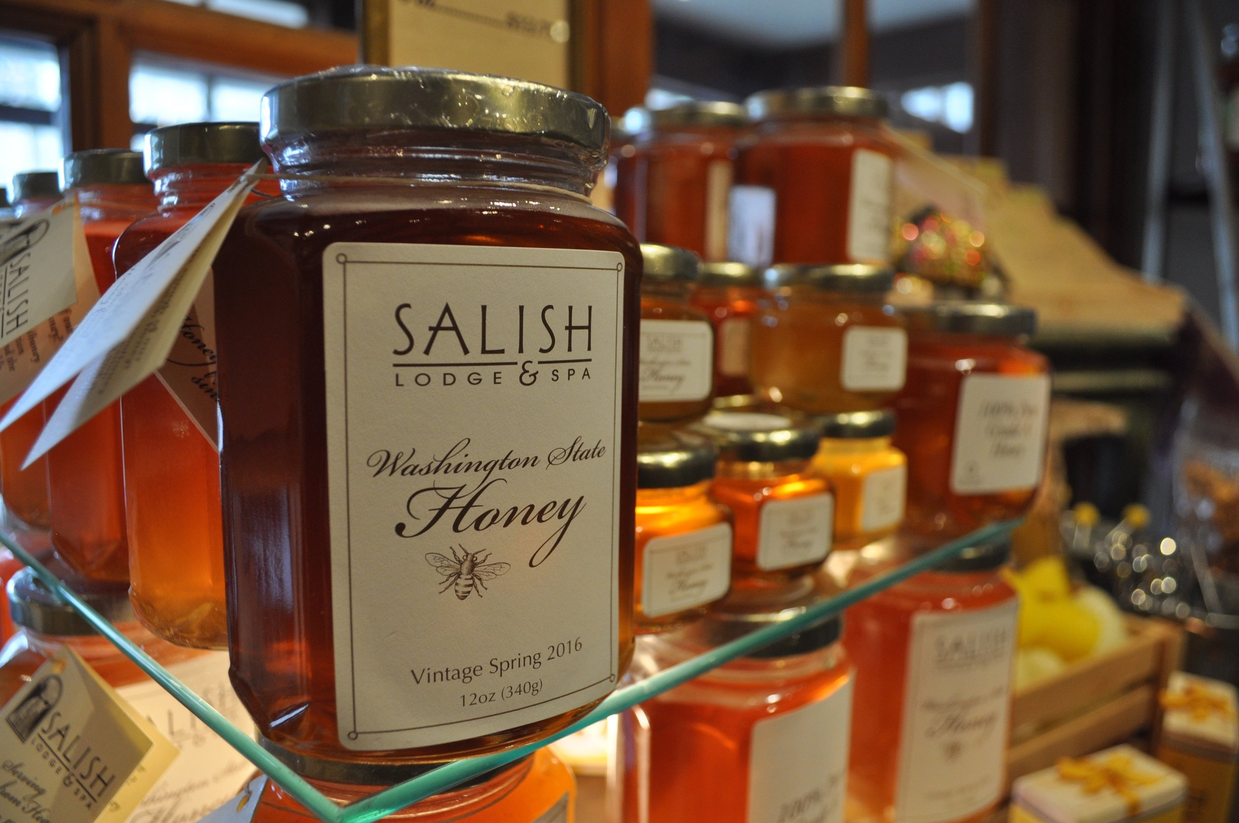 honey from Salish Lodge