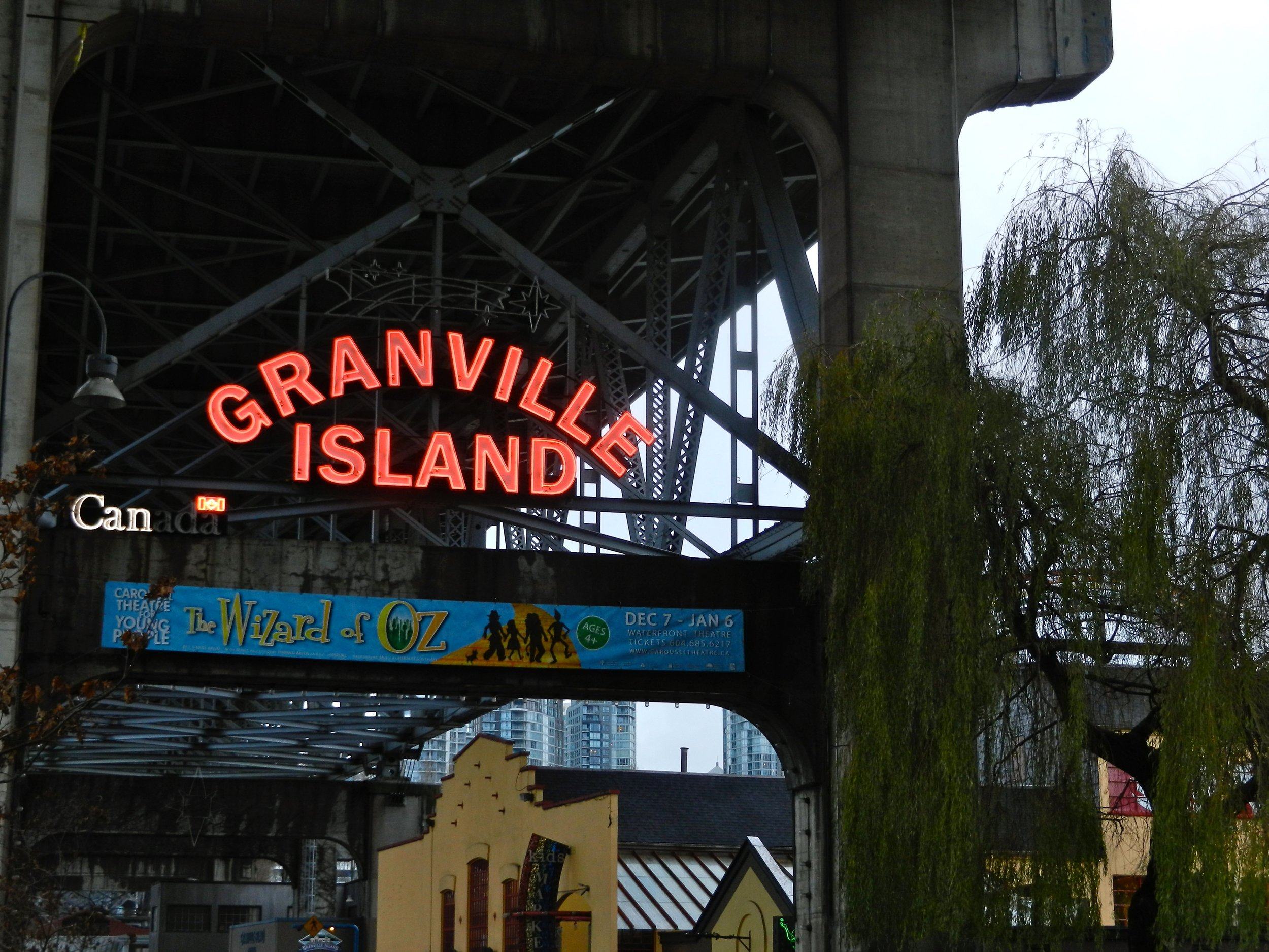 Granville Island awaits. Bring an empty stomach!