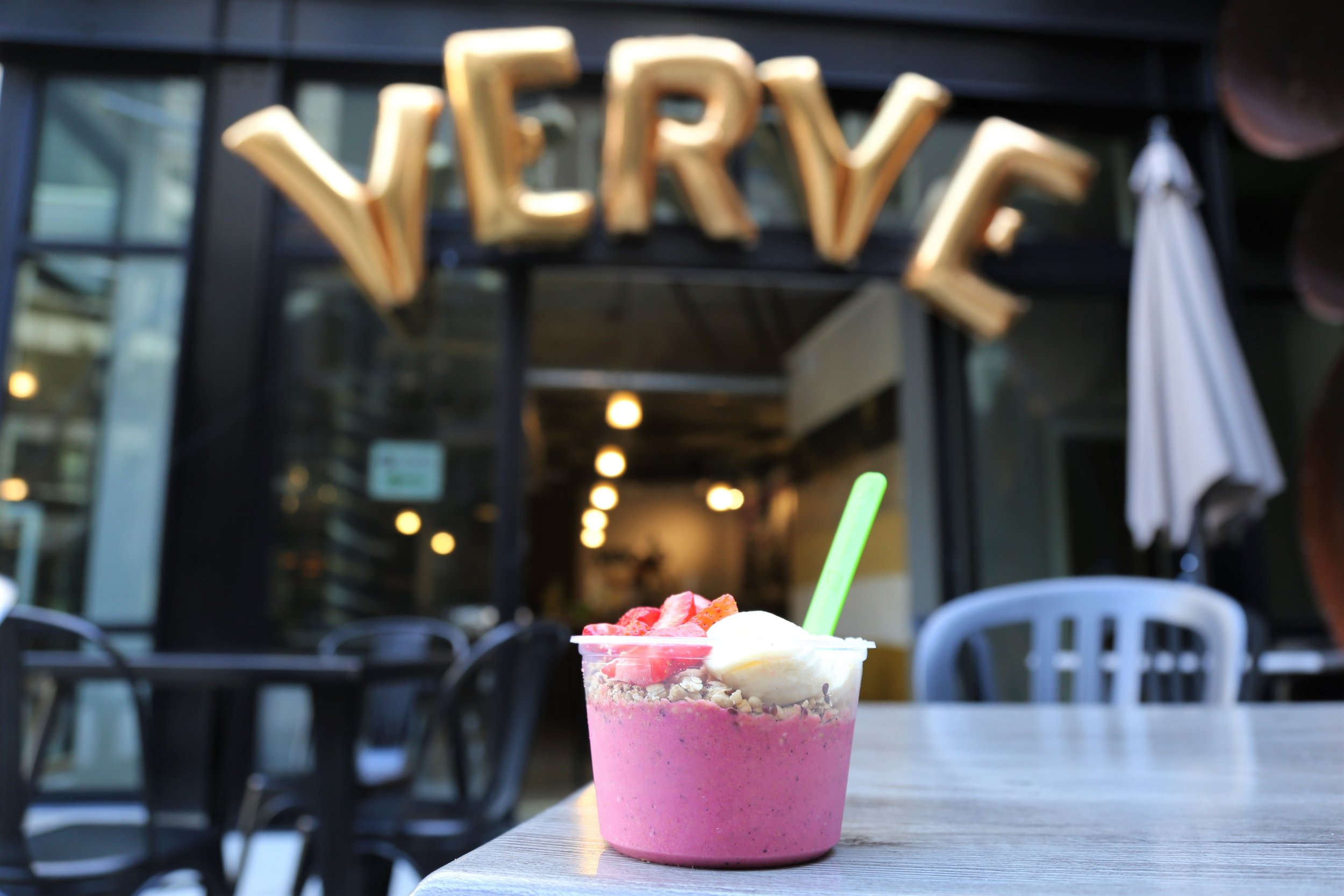 The Beast Mode smoothie bowl from Verve