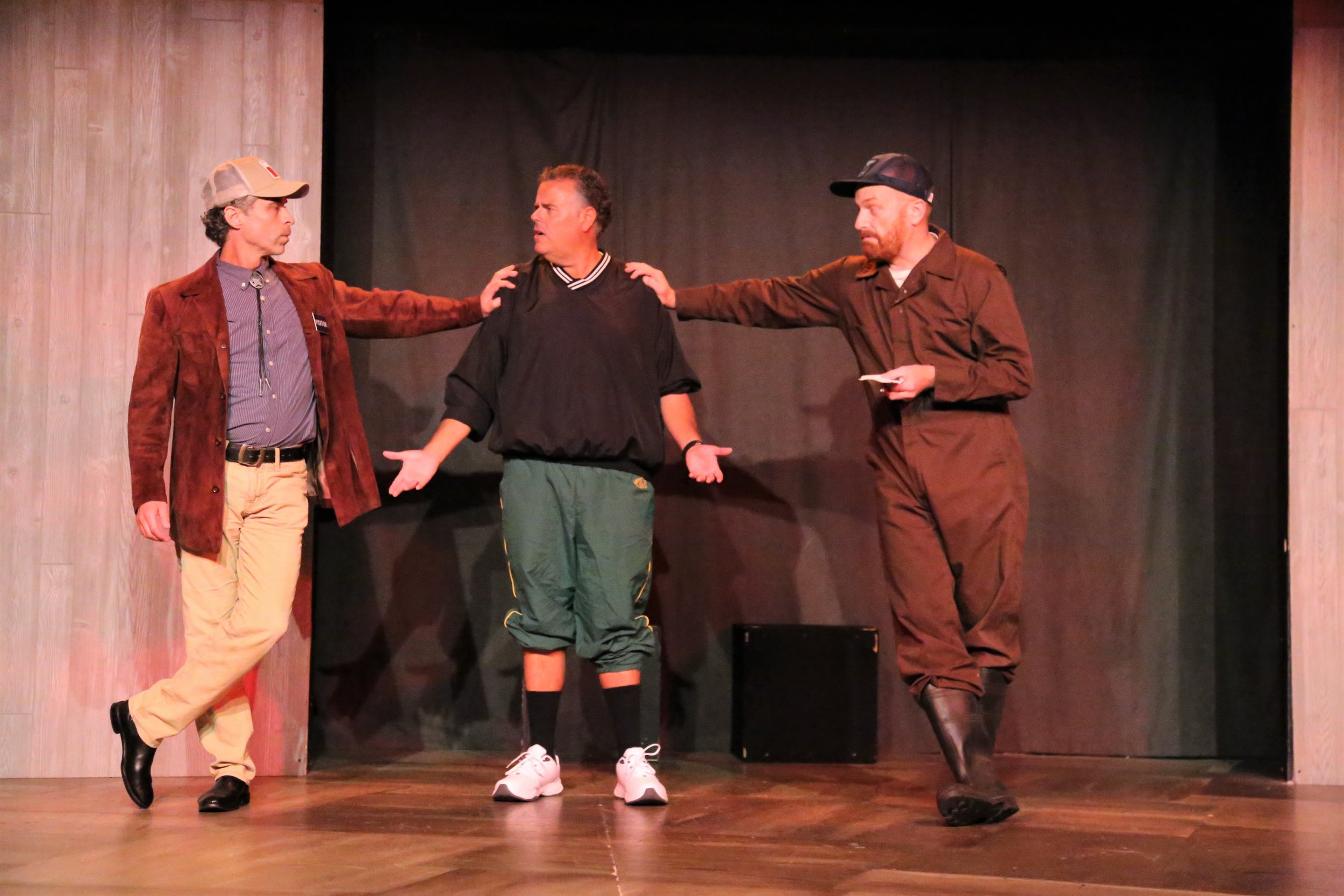 Improv hilarity at Unexpected Productions