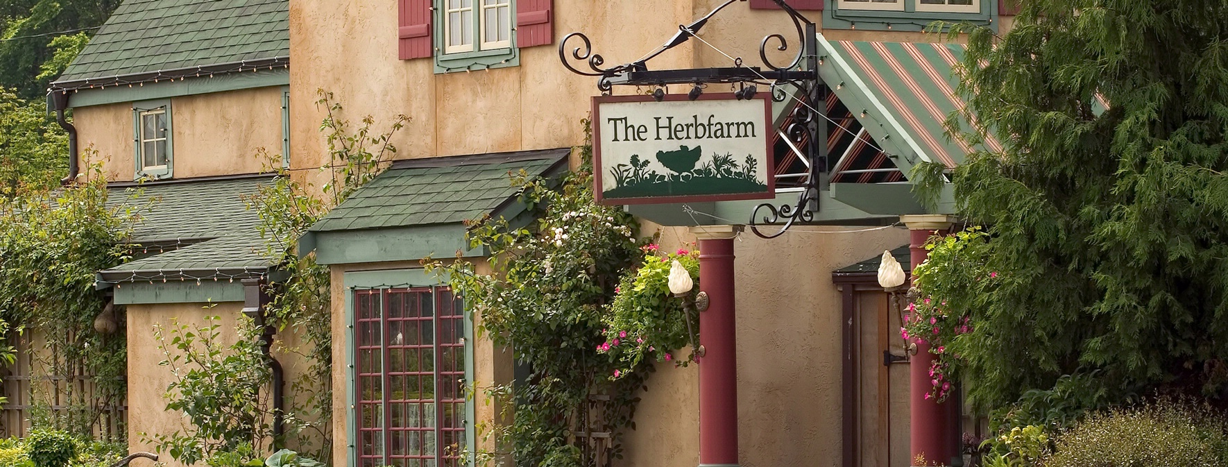 The Herbfarm Exterior: Courtesy of Willows Lodge