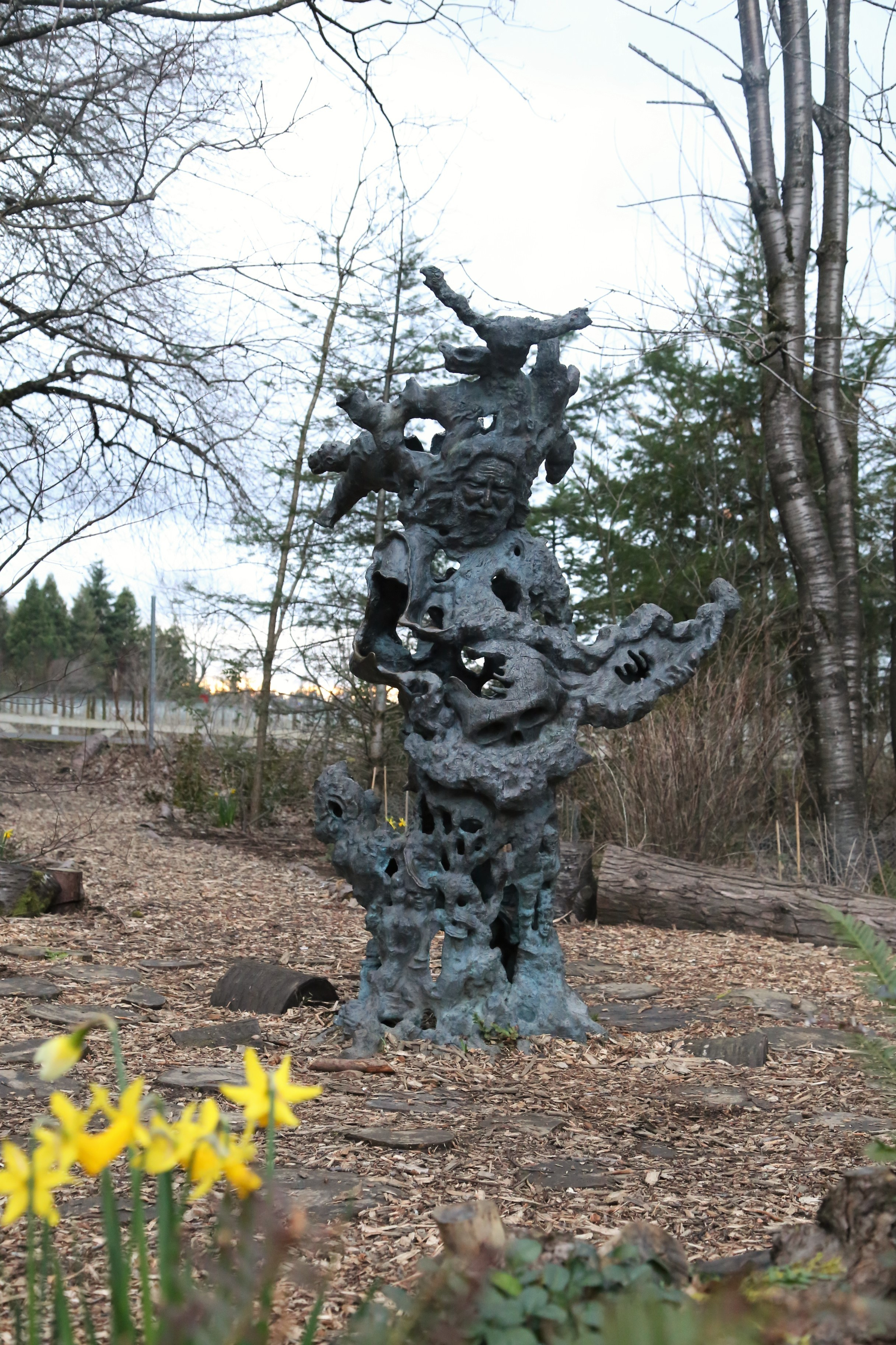 There are more spots then just Jerry's Ice House that pay homage to the great performer, here is a Jerry Garcia statue found on the grounds.