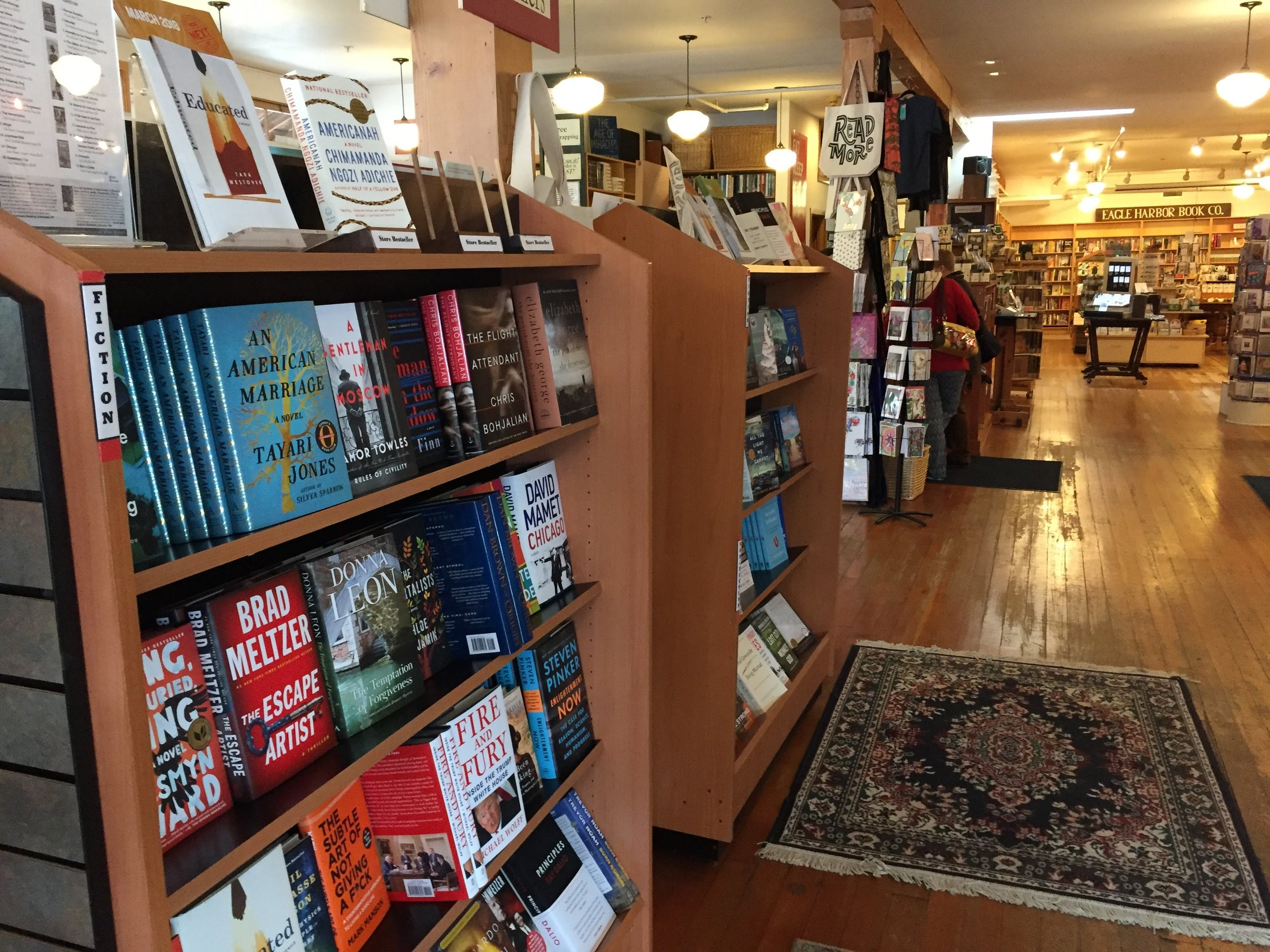 Eagle Harbor Book Company Bainbridge Island