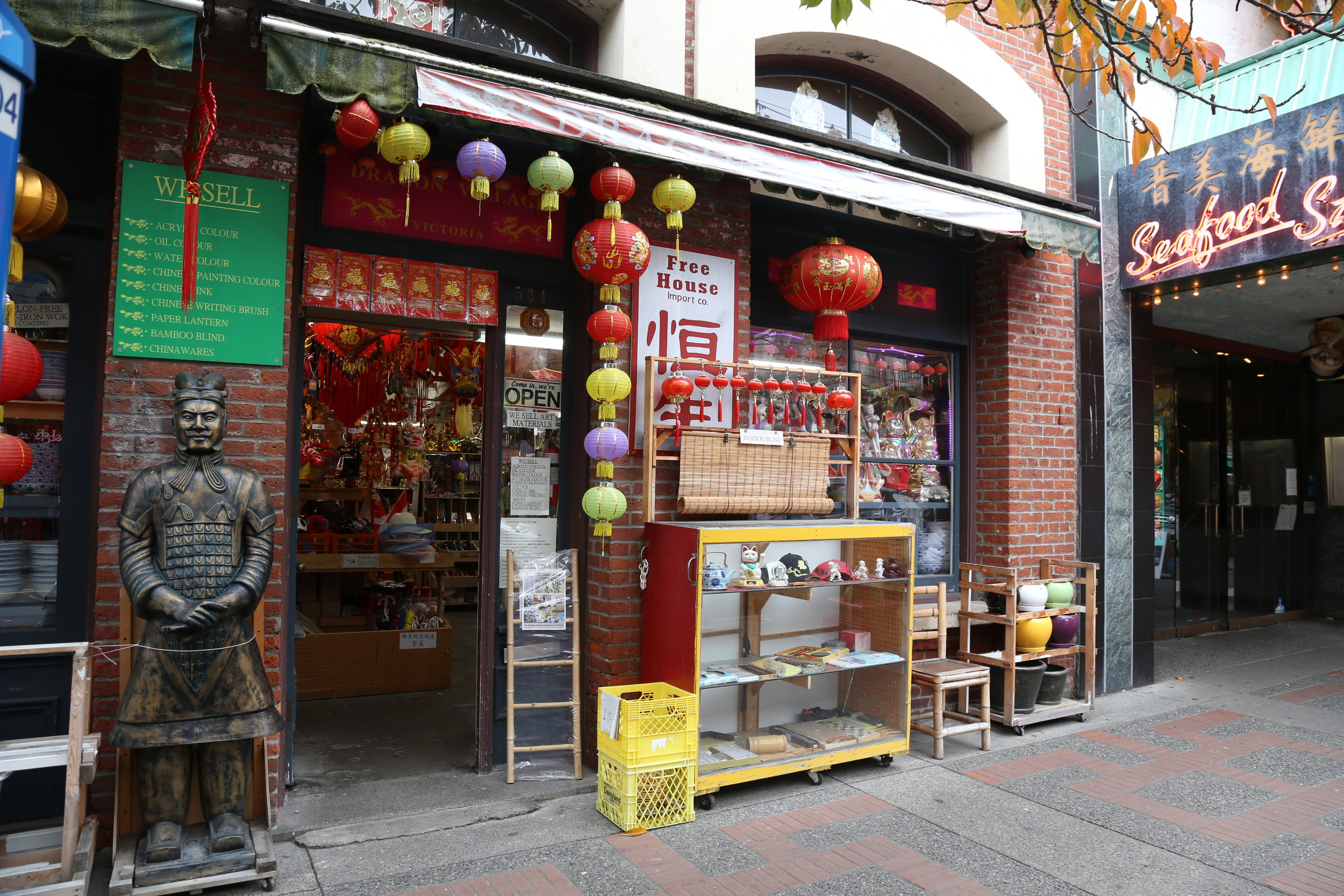 It might be small, but Victoria is home to Canada's oldest Chinatown