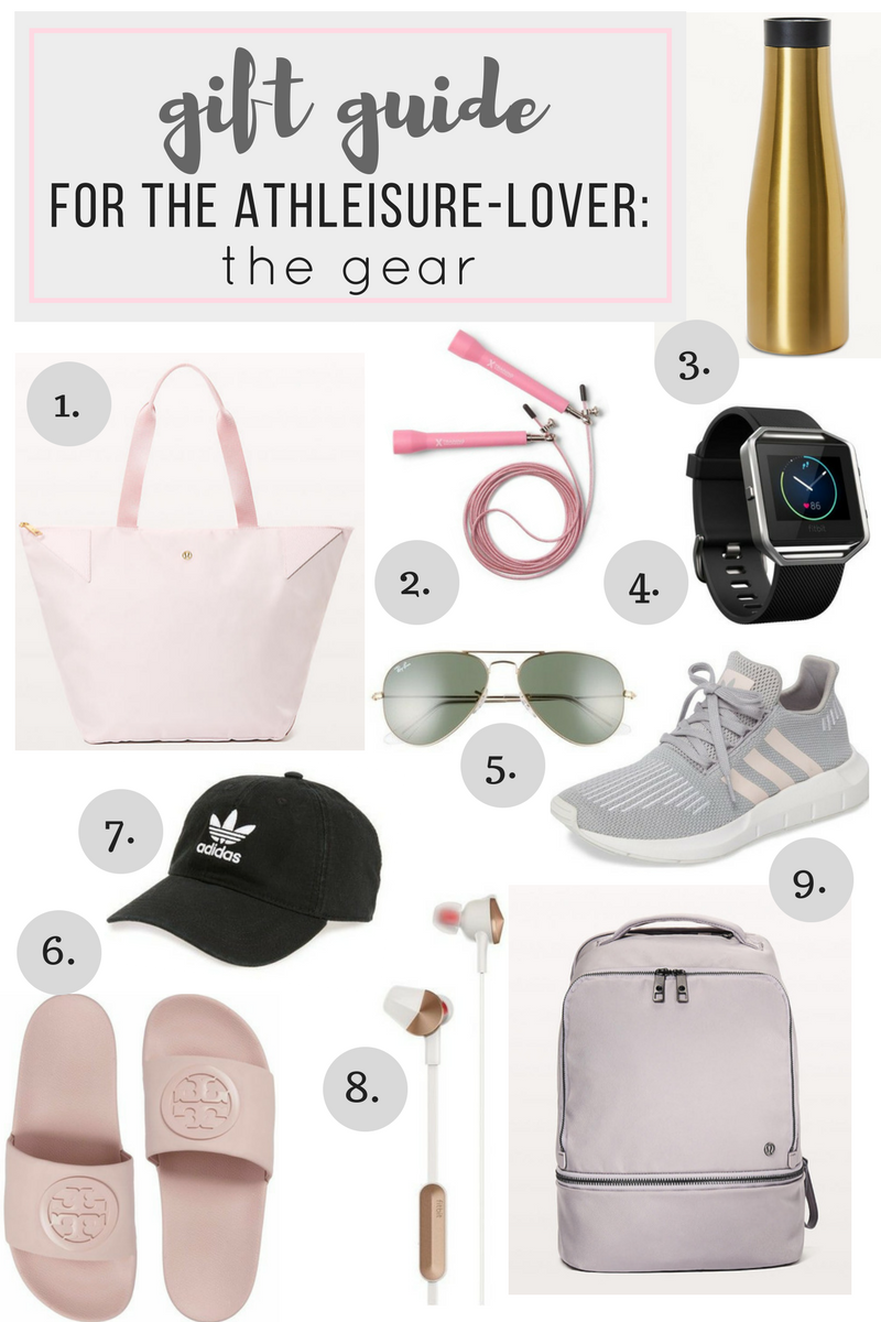 gift guide for the athleisure-loving mom! Perfect gifts for the on the go mom.
