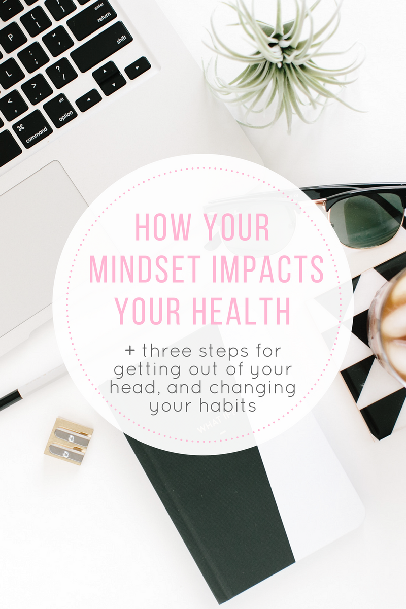 How changing your mindset can help you create a foundation for changing health habits. 3 tips for changing your mindset to help you lose weight.