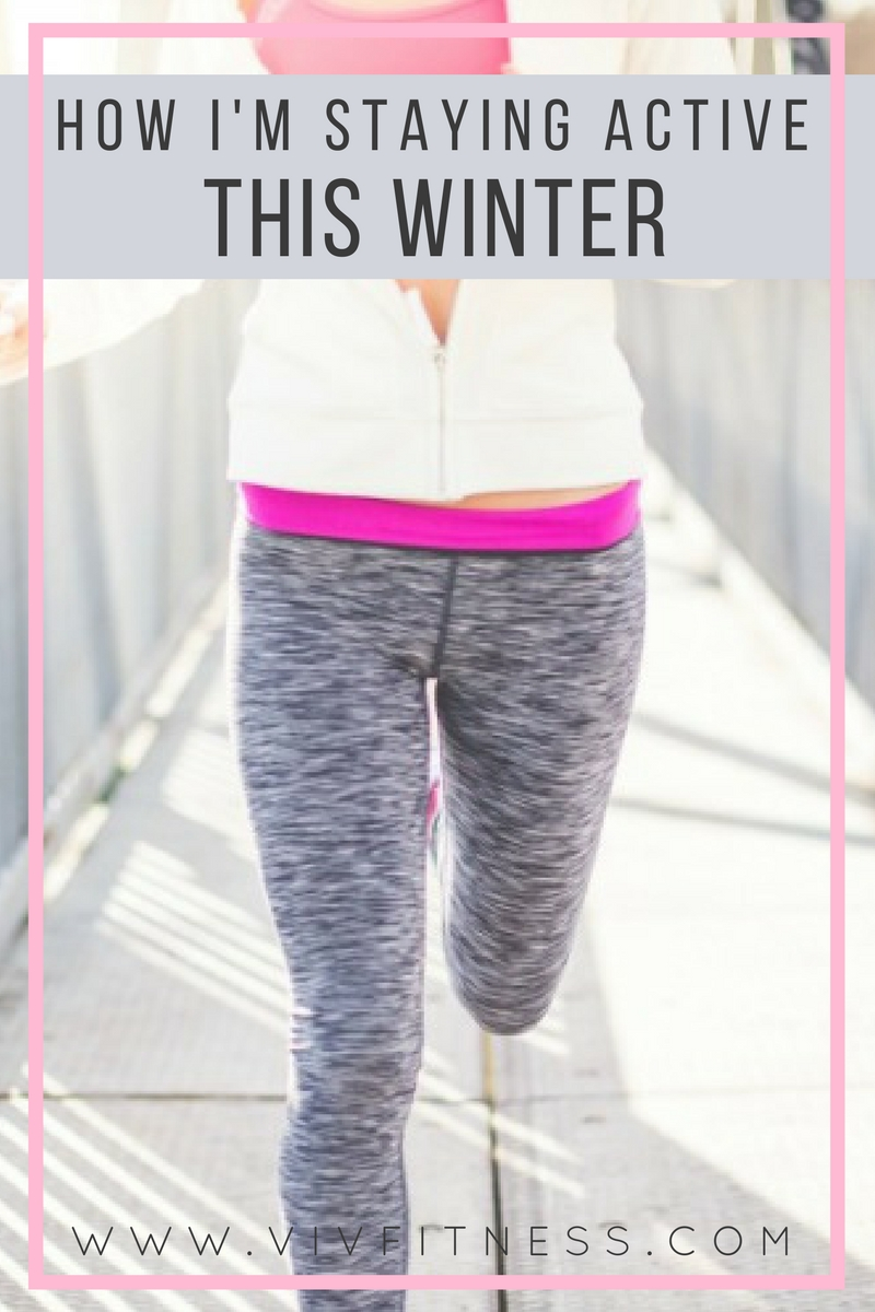 Tips for staying active this winter and losing the baby weight.