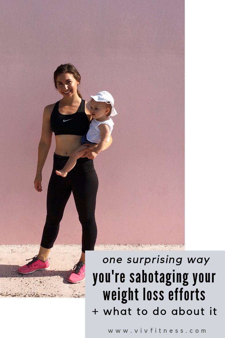 The surprising way you're self-sabotaging your postpartum weight loss and what to do instead