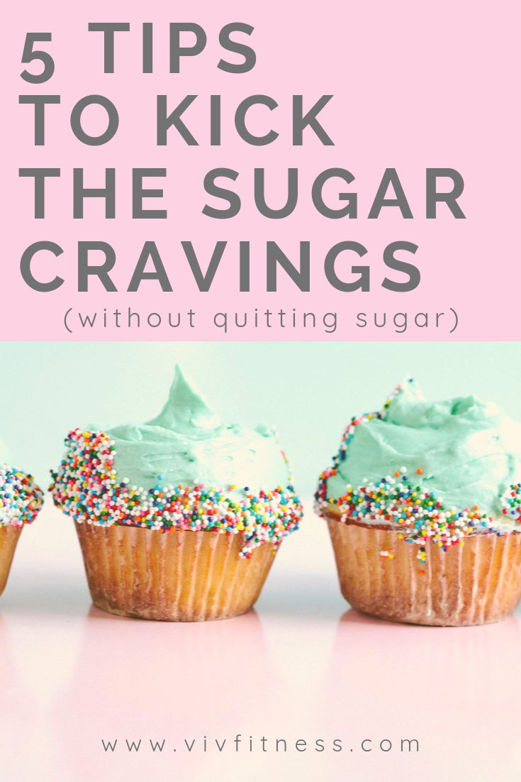 five tips for overcoming sugar cravings. How to fight sugar cravings. How to lose weight.