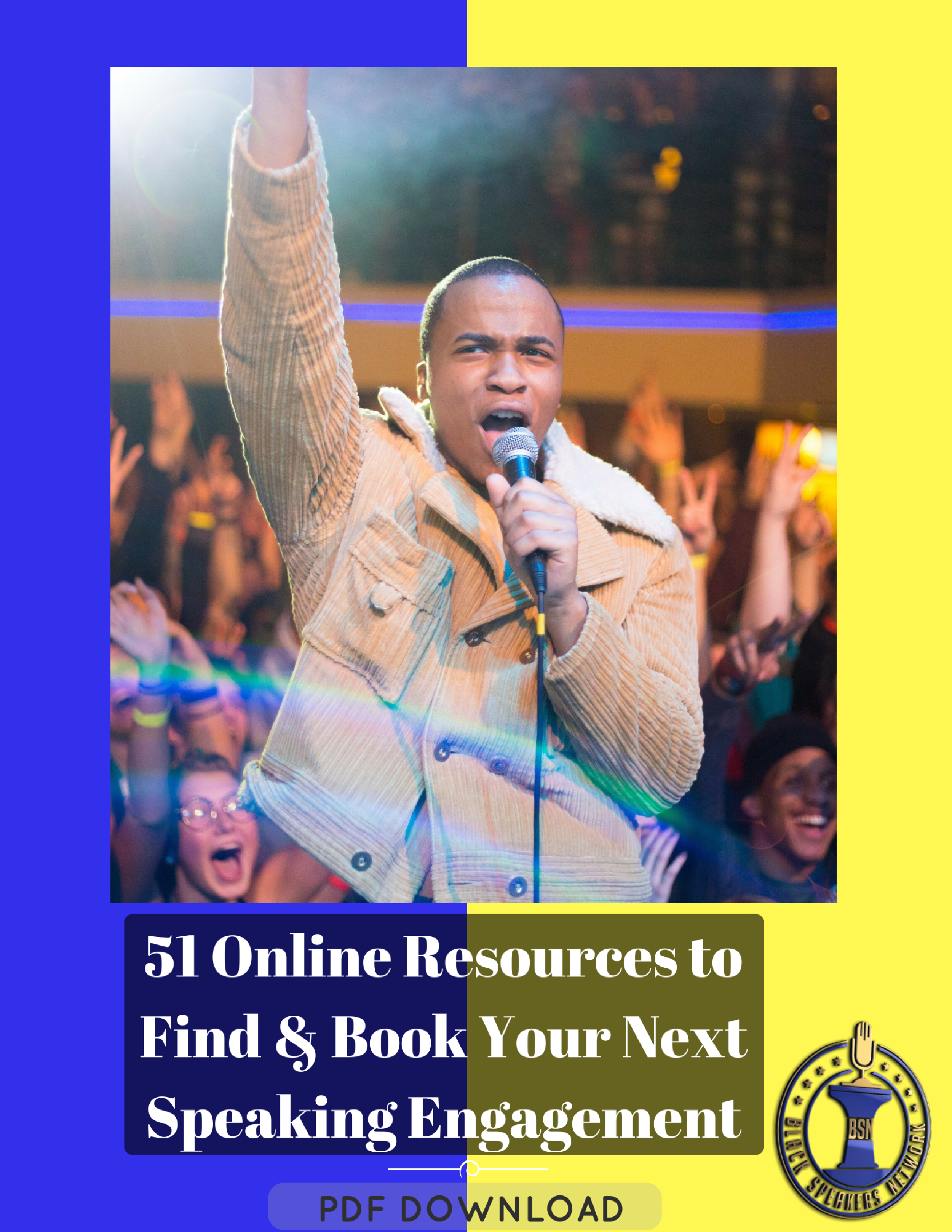 Stop Struggling and Start Speaking! - If your speaking calendar is looking kind of light, then you have the tool to fix that today. The 51 Online Resources To Find and Book Your Next Speaking Engagement is a comprehensive 20-page PDF Resource Guide created for you with the goal to completely remove the excuse of not knowing where to look for speaking engagements.