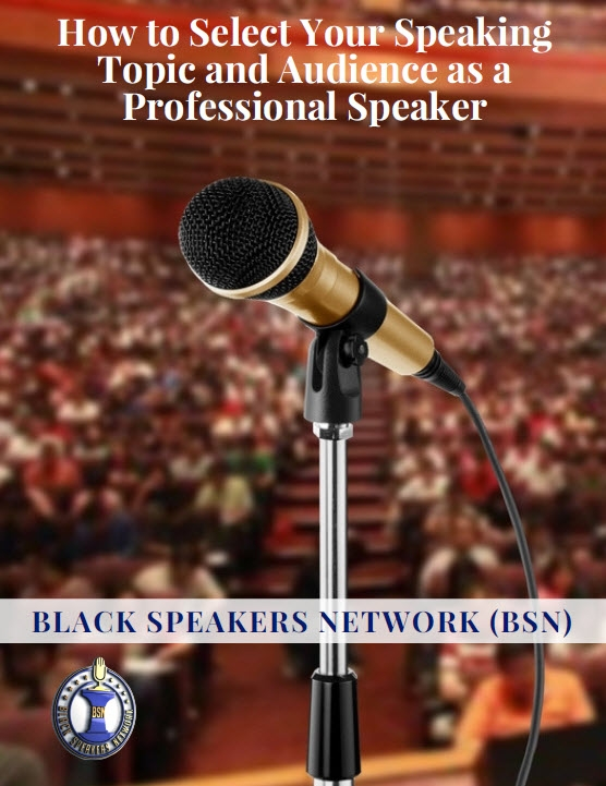 (Now Availableon Amazon & Kindle)Are You Wasting Time, Money and Energy Speaking to the Wrong Audience?by Brian Olds - You have probably seen speakers who you could tell were not passionate about their topic. Or a speaker who is struggling to book speaking engagements because did not know who their target audience was. Figuring out your core message and topic is a MUST when starting your speaking business. But too often we skip this step and it costs up a lot of time and money. Selecting your Speaking Topic and Audience is a 13-Page step-by-step workbook that is packed with key questions and insights to help you identify your core message and the audience you are called to speak to.
