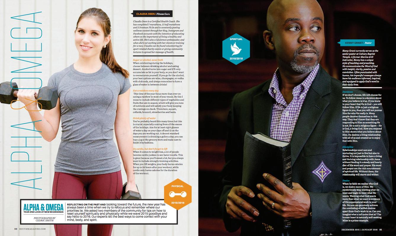 South Magazine - Print - Alpha & OmegaDecember 2015-January 2016