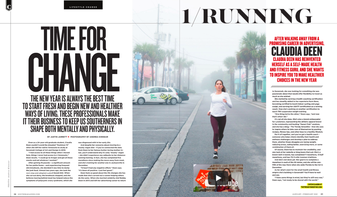 South Magazine - Print - Time For A ChangeJanuary-February 2018