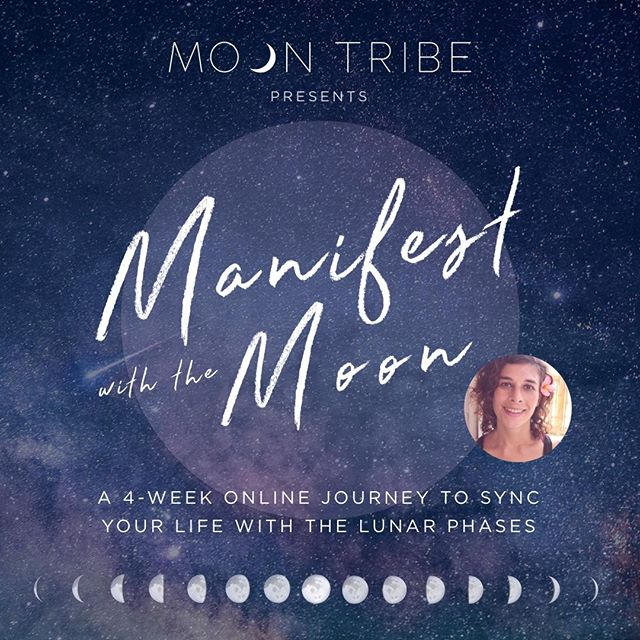 MANIFEST WITH THE MOON ✨🌑🌒🌓🌔🌕🌖🌗🌘🌑✨ A 4-week online journey to sync your life with the lunar phases .  We are SO excited to present you our first Moon Tribe Transmission!! Created by Moon Tribe founder @simonayoga in Bali earlier this year... This 4-week journey through each of the lunar phases is designed as a deep dive into an enhanced life experience that's unique to you.  You can start at any time at the current moon phase and revisit the sessions each month or whenever you feel called.  The deeper you dive in the more transformative the results will be. .  It's the perfect time to begin your journey with manifesting with the NEW MOON in Taurus this Sunday, 5th May!  Get started with our launch special for £88 - instead of £111 - until Sunday at midnight with the code 'MOONLOVE'! 💜✨🌙 ( ↠ link in bio)  See you on the inside.. x . . . #manifestwiththemoon . . . #moontribe #transmissions . #manifesting #newmoon #ritual #sacredspace #awakening #intentions #highvibes #moonwisdom #modernmystic #goddessrising #liveyourtruth #moonmagic #moon #moongoddess #shakti #risesisterrise #divinefeminine #sacredfeminine #magictribe #everydaymagic #magick #moonvibes #spirituallife #yogalife #yogateacher #highvibetribe #highvibe . . . ↡↡↡