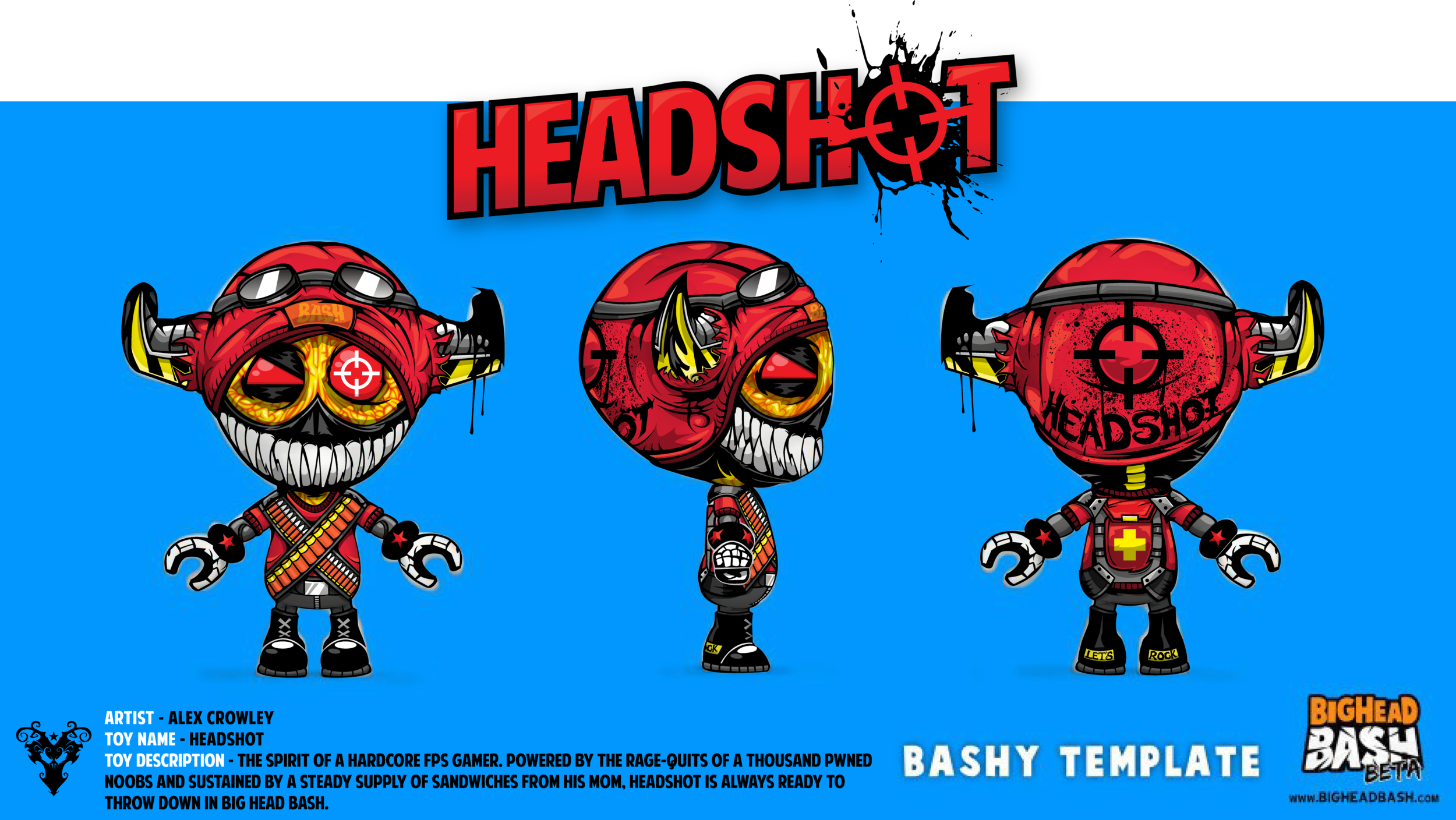 Big Head Bash // Spicy Horse