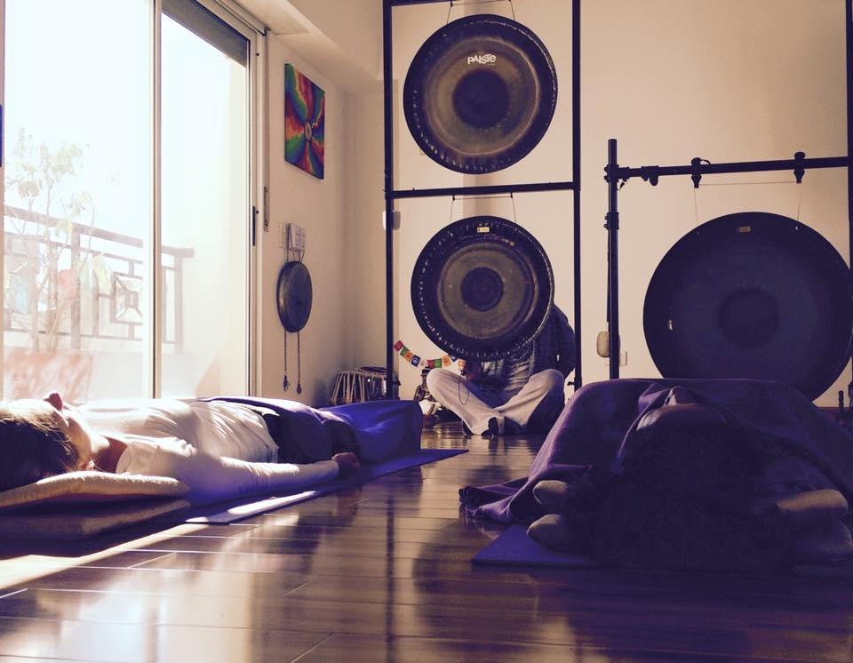 Gong Meditation at Dharam, Buenos Aires