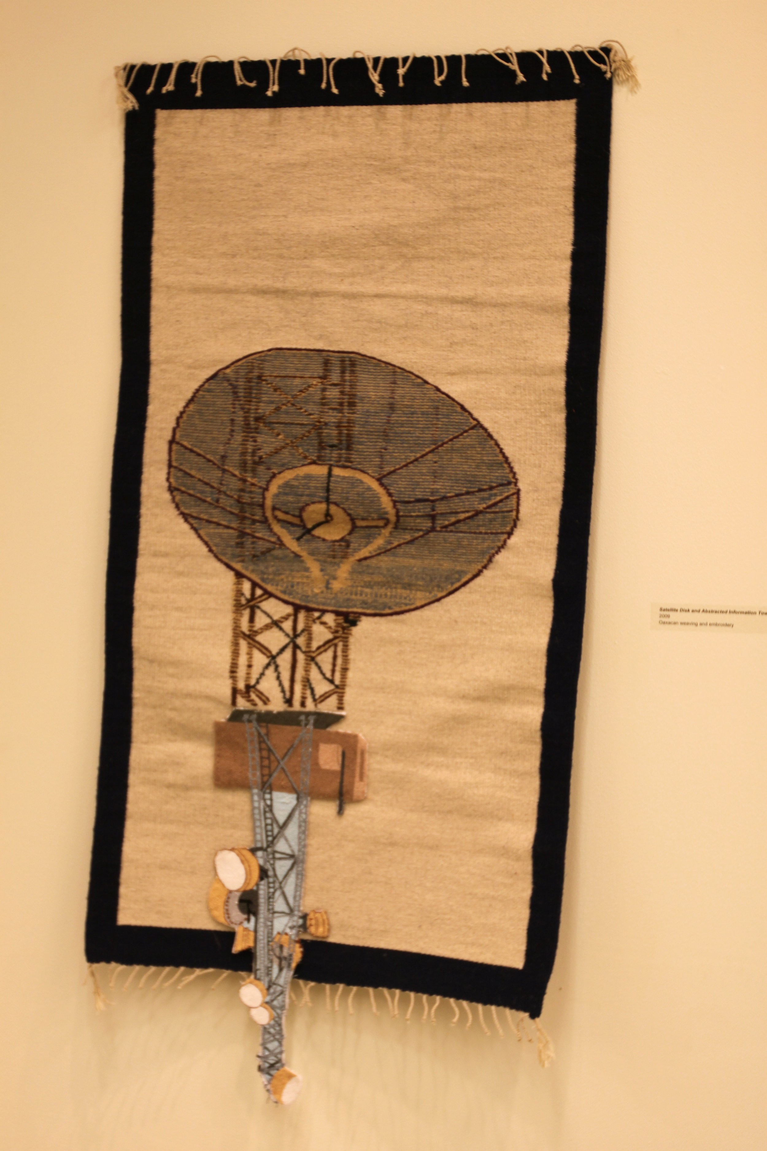 """Folk Art and Flea Market Satellite Tower""  Mixed media"