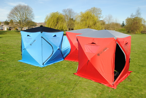 Check it out:   Indiegogo-Qube Tent