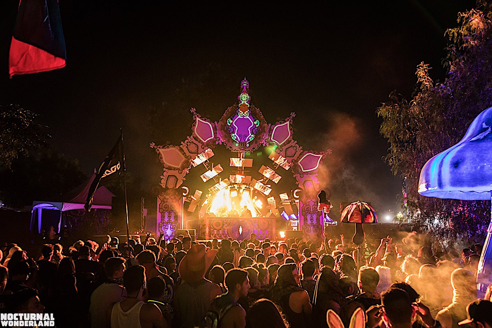 TEMPLE NOCTEM: Photo Credit - Insomniac Events